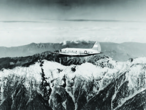 A photo of the C46 airplane