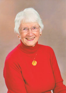 A photo of Joan, a resident of the John Knox Village of Central Florida