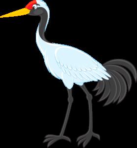 A cartoon character Sandy Crane