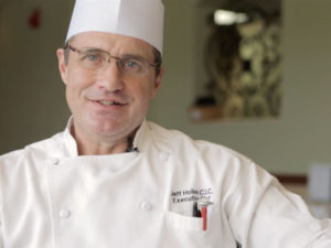 A photo of Jeff HOller the executive chef at the John Knox Village of Central Florida retirement community