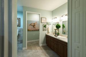A photo of a master bathroom at the John Knox Village of Central Florida