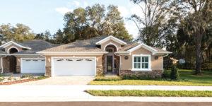 An exterior photo of a senior living home at the John Knox Village of Central Florida