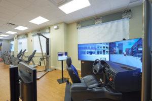 A virtual driving simulation for seniors