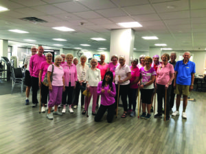 A photo of a Finding Balance group fitness class