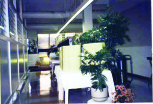 A photo of the interior of John Knox Village back in 1989