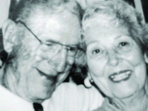 A photo of Jake Beard and his wife
