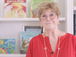 A photo of the childrens book author Marianne Berkes