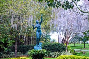 A photo of sculpture gardens in Winter Park, FL